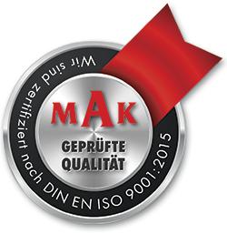 MAK Zertifikat