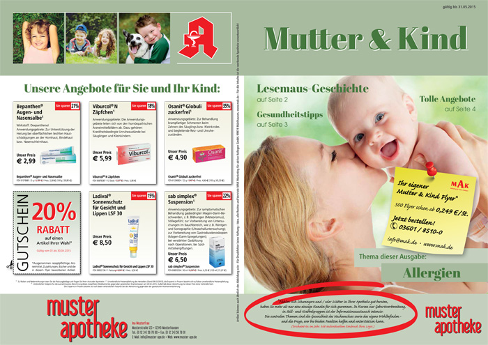 MUTTER & KIND-FLYER